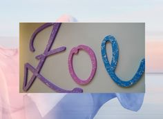 Holzbuchstaben - Holzbuchstaben für Kinderzimmer - ein Designerstück von abc_ABC bei DaWanda