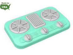 Green Toys® Stove Top. No BPA, phthalates, or PVC. Meets FDA food contact standards, and dishwasher safe for easy cleaning. Packaged with recyclable materials and printed with soy ink.: