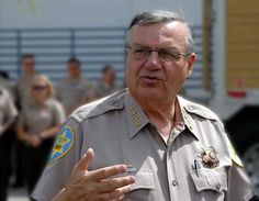 """Sheriff Joe Arpaio: """"If you don't like how I run things, don't get arrested in Maricopa County."""" He has two meals served a day, usually bologna sandwiches. Televisions are tuned to the weather channel. Prisoners wear pink underwear. Instead of having an expensive addition built he erected a tent city in a yard of the courthouse."""