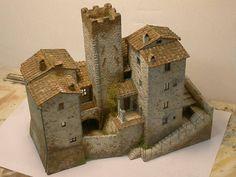 bottega dei plastici_082 come realizzare il castello di Subbiano - Arezzo