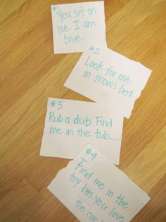 Get Kids Moving AND Reading with... Read.Your.Way Scavenger Hunt