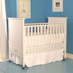 Dick Crib in White (best hand-me-down item!)