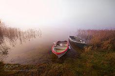 boats at loch ard by mnmnmrad