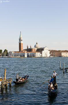 Evening View of San Giorgio Maggiore - Venice, Italy
