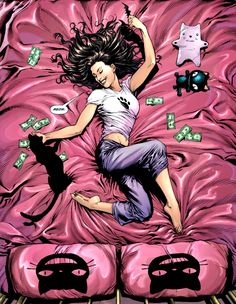 Selina Kyle in Batman: Earth One Vol.2.