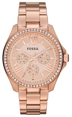 Fossil 'Cecile' Multifunction Bracelet Watch