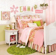 Fauna decorativa: Dormitorios infantiles sólo para niñas / Bedrooms only for girls
