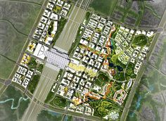CBD Integrated High Speed Transport Hub – Gui'An (CN) - MLA  | Architecture, Urbanism