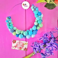 Yay they say the cold season is finally over so we officialy say hello to Spring her magic  #flowerscent  and vivid color combinations!  #statementnecklaces #handmade #tealcolors #flatlay #colorful #rainbow