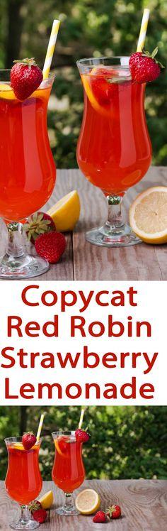 copycat red robin strawberry lemonade recipe