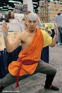 Avatar - Aang - WonderCon 2012  The last airbender.