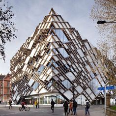 The Diamond at the University of Sheffield in England by Twelve Architects