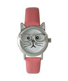 Cat in Glasses Watch