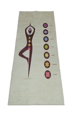 100% Cotton Surface Custom Yoga Mats https://fabricdome.com/products/5mm-yoga-mat-new-68x24-new-cushioned