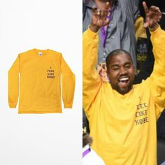 Hipster T Shirt Kanye West  T-shirt Men Skateboard I Feel Like Kebo Print Long Sleeve Tshirt Hip Hop High Quality Drake Vetement