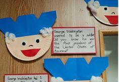George Washington Craft The Presidential Treatment: Patriotic Craft Ideas