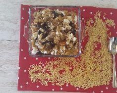 Pâtes  Kritharaki  (longue d'oiseaux)  aux champignons sauvages et feta Feta, Bread, Wild Mushrooms, Languages, Brot, Baking, Breads, Buns