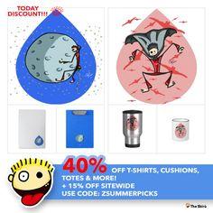 TODAY DISCOUNT!!!  40% Off T-Shirts, Cushions, Totes & More! + 15% Off Sitewide Use Code: ZSUMMERPICKS  http://www.zazzle.co.uk/thesbiru #artwork #drawing #art #thesbirù #comic #cartoon #puppet #zazzle #artprint #shopart #children #joy #child #fun #funny #humor #happiness #childhood #smile #kid #illustration #mug   #mugs   #apparel   #tshirt #zazzle