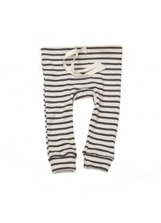 Organic Leggings / Natural with Charcoal - BABY BOY - Products : Fawn Shoppe - Global Boutique For Unique Children's Designs
