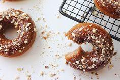 Paleo Almond Vanilla Maple Doughnuts