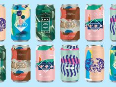 Beer Cans designed by MadeByStudioJQ. Connect with them on Dribbble;