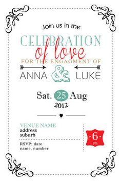 Engagement Invitations  Vivid Love