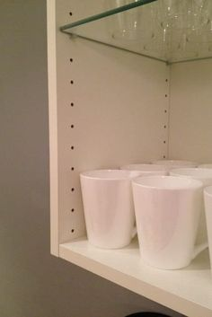 fill the adjustable shelving holes in Ikea or other cabinets. 37 Cheap And Easy Ways To Make Your Ikea Stuff Look Expensive Home Diy, Furniture Hacks, Cheap Furniture, Inexpensive Furniture, Ikea Furniture, Cheap Kitchen Cabinets, Ikea Kitchen Cabinets, Ikea, Eco Furniture