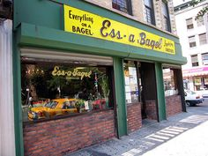 Ess-a-Bagel NYC. Though not in my immediate neighborhood, these are some of the best bagels in the city!