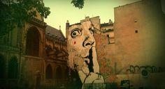 Graffiti art. Paris.