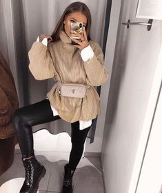 20 moderne Outfits Ideen Frauen Modeidee Fashion idea Source by Fashion outfits Cute Winter Outfits, Winter Fashion Outfits, Cute Casual Outfits, Look Fashion, Fall Outfits, Womens Fashion, Party Outfits, Summer Outfits, College Winter Outfits