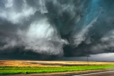 Awe-Inspiring Skies, Captured by an Extreme Storm Chaser | This long-lived supercell produced an EF4 tornado that tracked across northeast South Dakota and just missed the town of Bowdle on May 22, 2010.  Mike Hollingshead  | WIRED.com