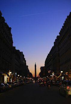 Рю де ла Пэ - Париж 2иme