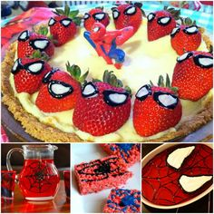 Spiderman Party Food These are to cute!  www.fb.com/ampurdy