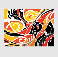 Shane Hansen is a Maori Artist based in Aotearoa New Zealand. He creates original paintings, limited edition prints and a range of objects and products. His artwork is mostly themed around native birds, his heritage and connection to the land. Art Prints, New Zealand Art, Yellow Art Print, Art Invitation, Fine Art, Abstract Artwork, Art, Pop Art, Nz Art