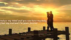 The best way to express your feelings is to send romantic quotes for boyfriend. Find here top 20 romantic quotes for him and add passionate spark to your relationship. Sunset Wallpaper, Couple Wallpaper, Hd Wallpaper, Wallpapers, I Love My Hubby, My Love, Romantic Quotes For Boyfriend, Best Kisses, Couple Quotes