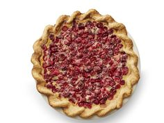 Cranberry Custard Pie : This pie makes a statement with its festive colors, crimped edge and satisfying fall flavors.