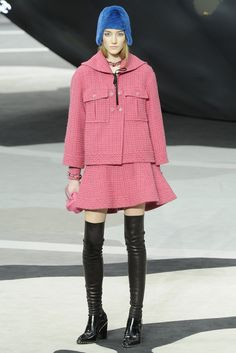 Chanel RTW Fall 2013. Real deal pink.