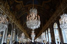 Hall of Mirrors, Versailles.