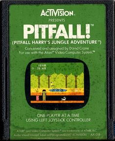 Pitfall for the Atari 2600...many hours of my life spent trying to conquer this game!