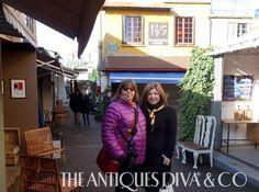 Antiques Roadshow Moment on Antiques Diva Tours #TheAntiquesDiva #TomaClarkHaines with #SusanCohan