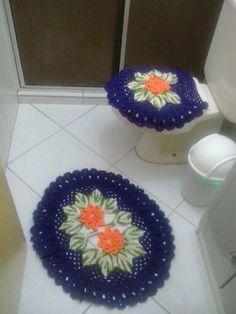 conjunto banheiro roxo
