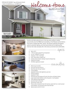 House For Sale Flyer | FSBO | Pinterest | For sale, Flyers and House