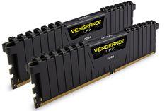 Corsair Vengeance LPX CMK16GX4M2A2133C13 16GB (2x8GB) DDR4 Black [CMK16GX4M2A2133C13] : PC Case Gear