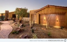 17 Parched Desert Landscaping Ideas | Home Design Lover