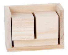 Unfinished Wood Block Calendar