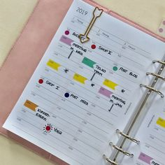 Color Coding im Filofax Notebook, Bullet Journal, Coding, Shop My, Organization, Blog, Getting Organized, Organisation, Notebooks