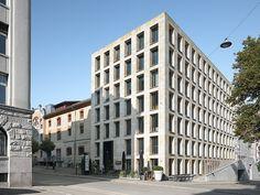 David Street in St. Gallen, 2011 | Baumschlager Eberle Architekten