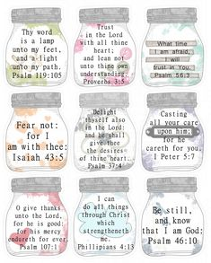 """Remember the post I did about """" snail mail tuck-ins ?"""" One of the things I like to include in my cards is a small Scripture card. Printable Bible Verses, Scripture Cards, Scripture Study, Bible Art, Bible Scriptures, Bible Quotes, Motivational Quotes, Journaling, Verses For Cards"""