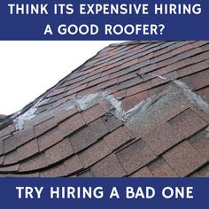 As winter approaches, it would be safe to see what condition your roof is in. Schedule a roof inspection today. https://homeguard.com/services/roof-inspections/ #roofinspection #roofer #diy #fail
