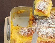 QimiQ Obers-Strudel - Rezept - ichkoche.at French Toast, Breakfast, Food, Sugar, Pies, Souffle Dish, Oven, Morning Coffee, Essen